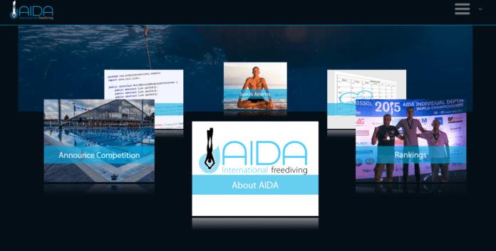 2016 AIDA International Website Design
