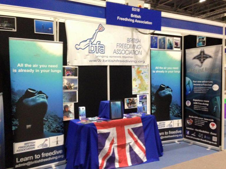 London International Dive Show Splashes Down