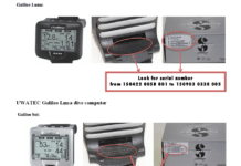 Scubapro has issued a recall notice for some of its Galileo Luna and Sol Dive Computers
