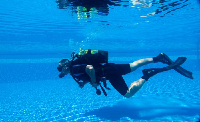 Learning to Scuba Dive in a Swimming Pool