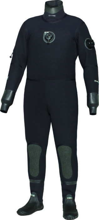 BARE has upgraded its D6 Pro Drysuit.