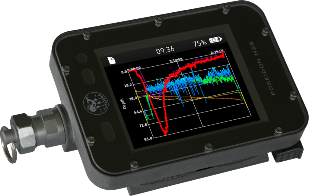 Poseidon USA's M28 Dive Computer To Go On Sale In May