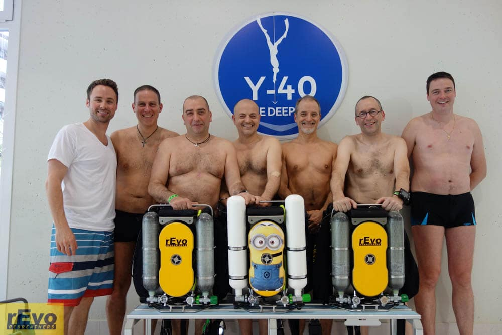 rEvo Rebreathers personnel took part in a study looking into the effects of diving on the heart.