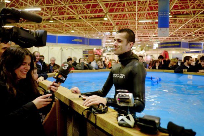 Aleix Segura Vendrell Guinness World Record O2 apnea
