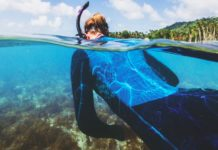 """BARE recently introduced its new 'Limited Edition"""" women's wetsuit."""