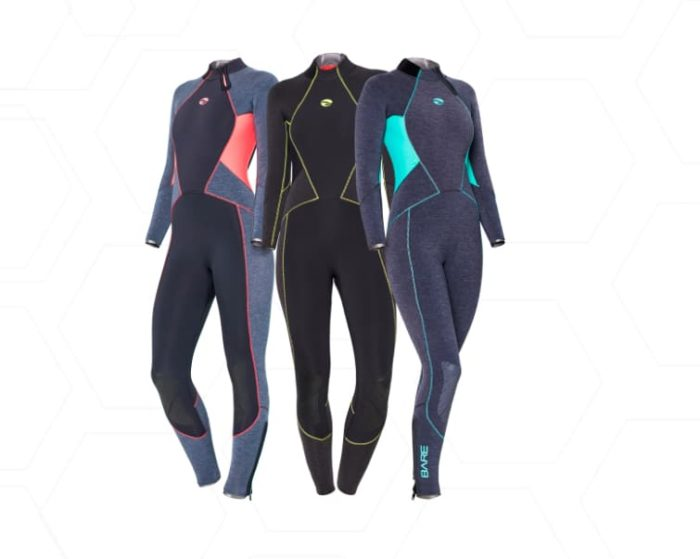 BARE recently introduced its 'Evoke' wetsuit for women.