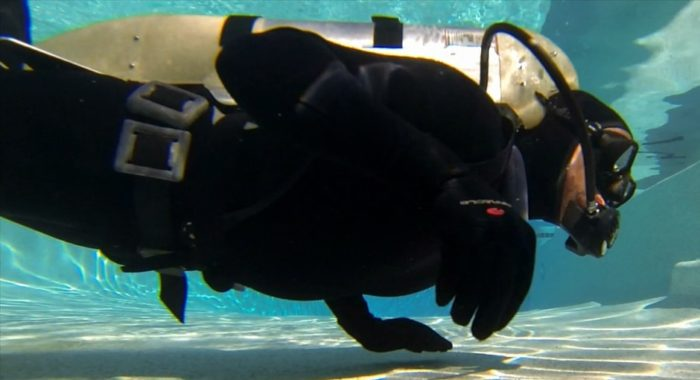 Scuba Diver In The Pool