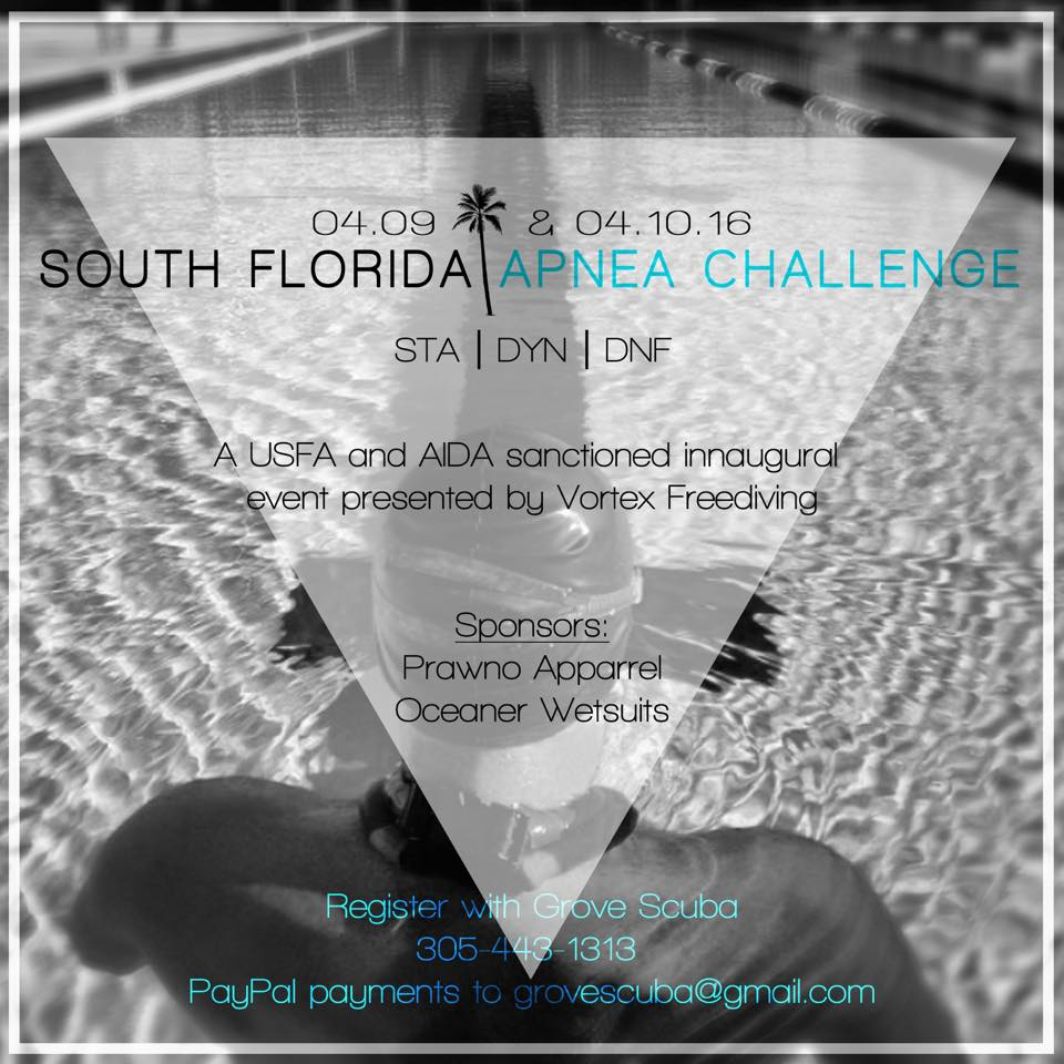 The 1st Annual South Florida Apnea Challenge 2