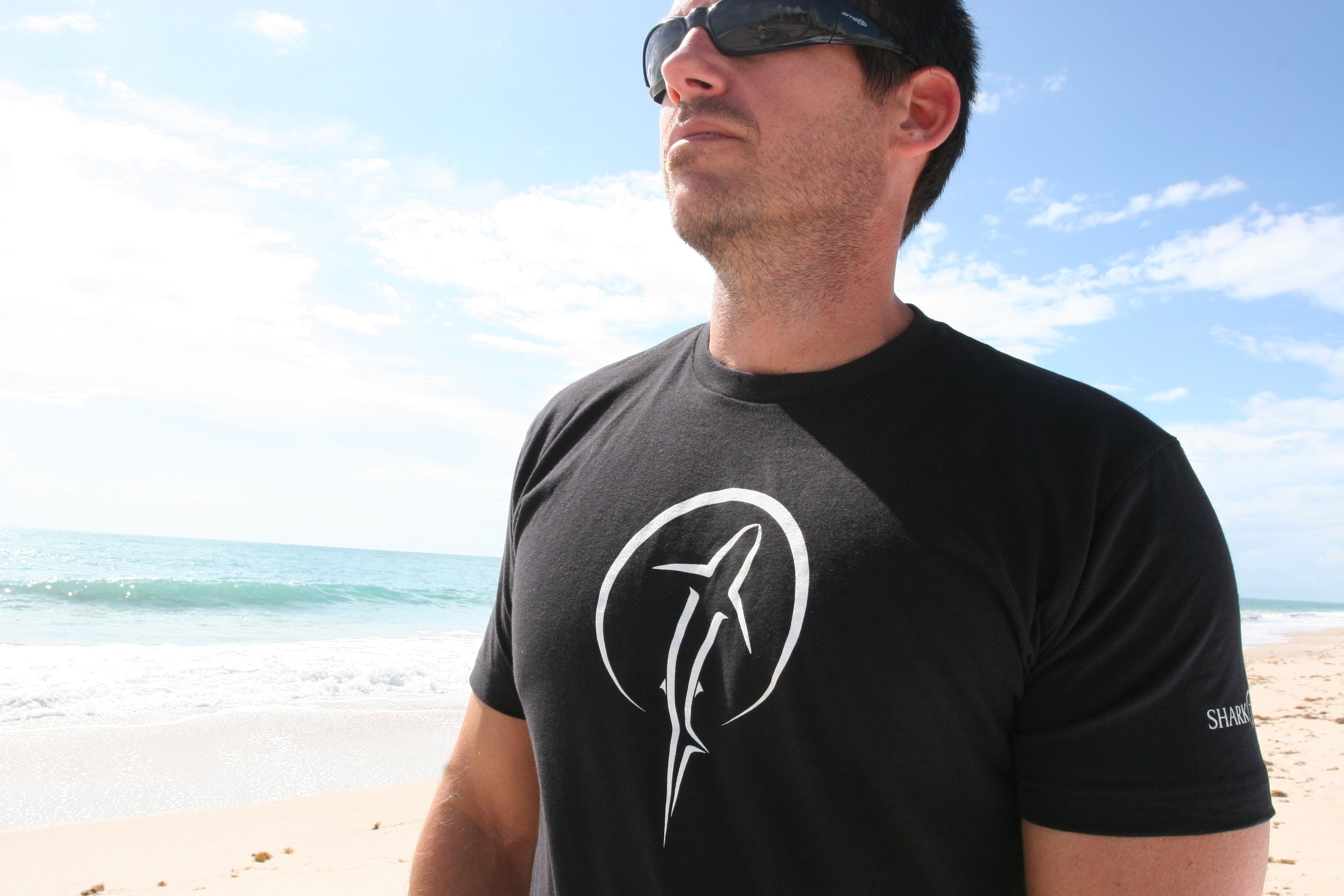 Shark Zen - -T-shirt on model