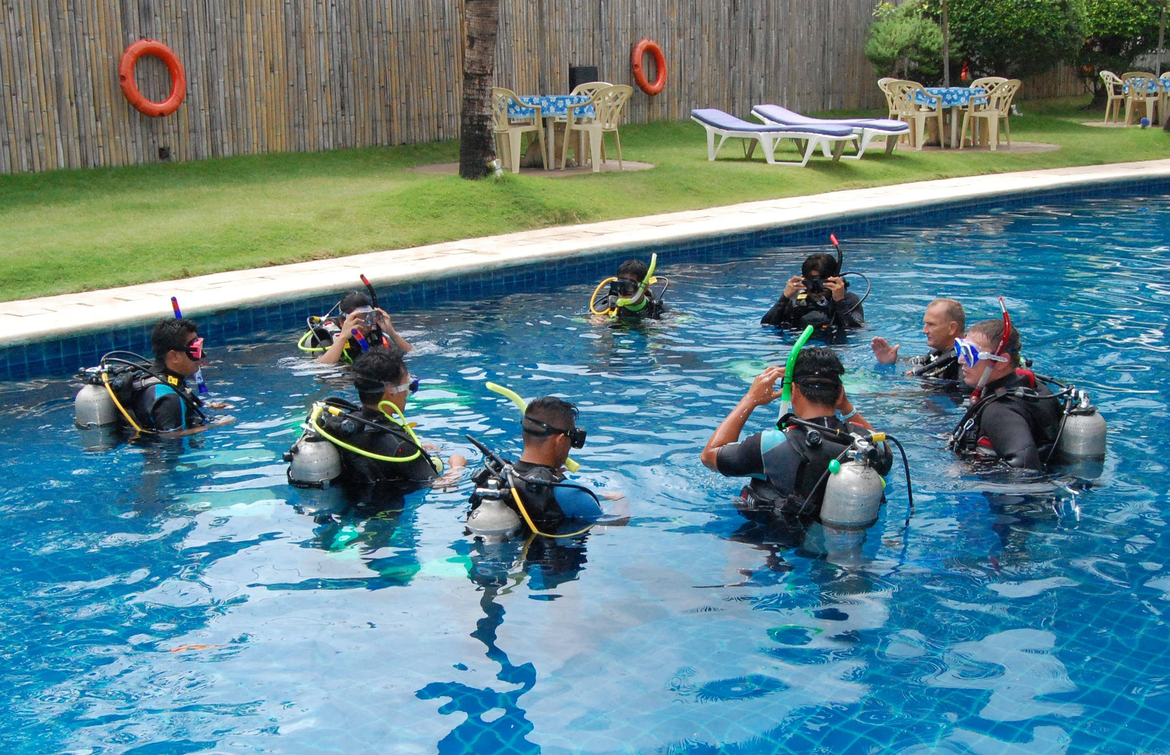 Confined Water Training - Learning the skills to become a safe diver