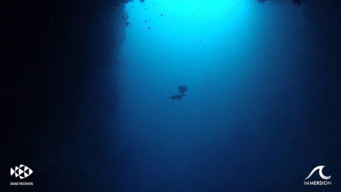 Diving the Dahab Arch