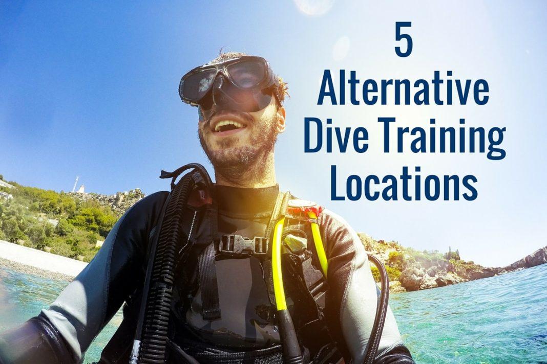 5 Alternative Dive Training Locations