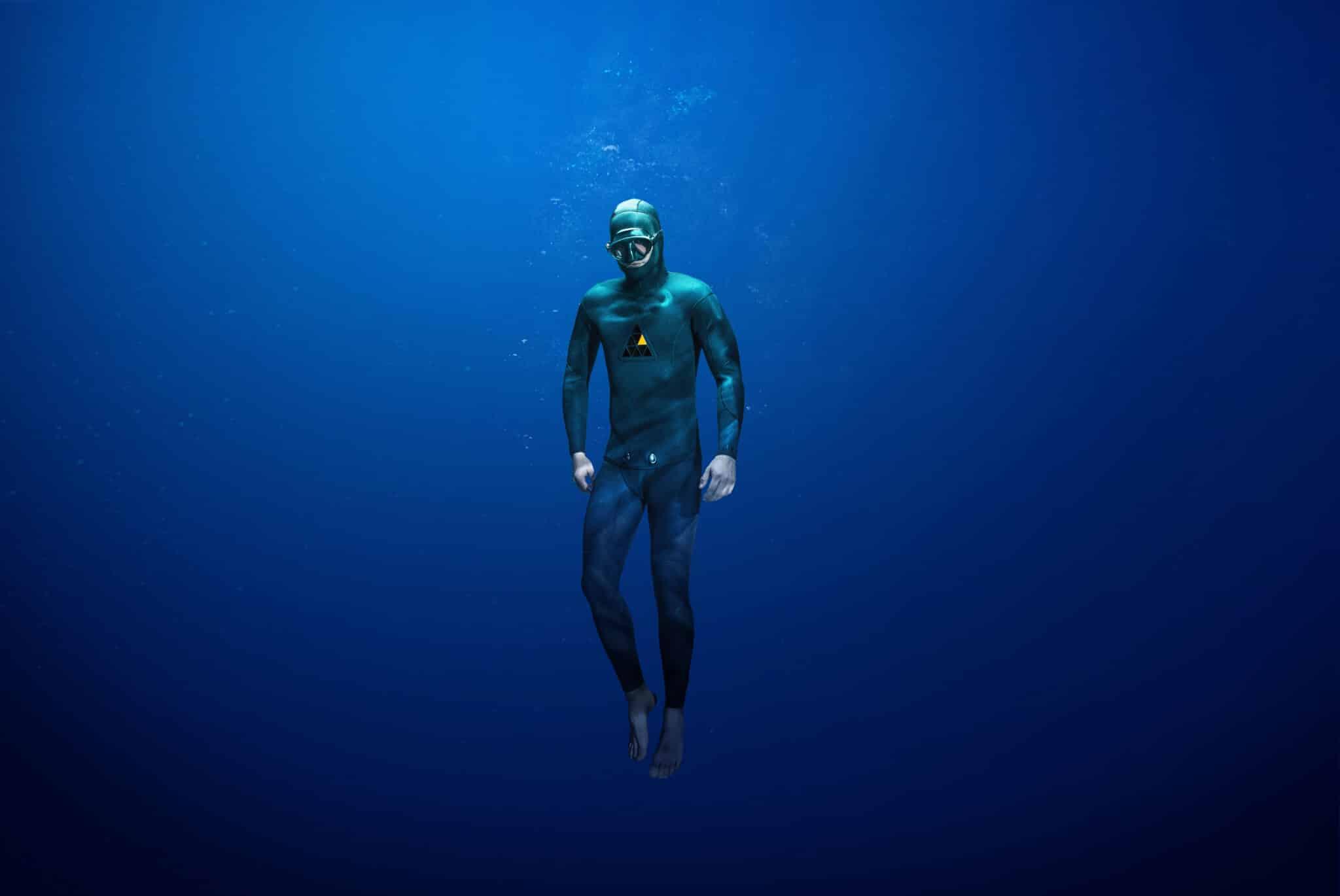 Kiwi Pair Starts Up New Freediving Wetsuit Company