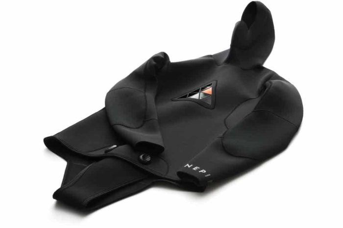 Ninepin wetsuit -- top