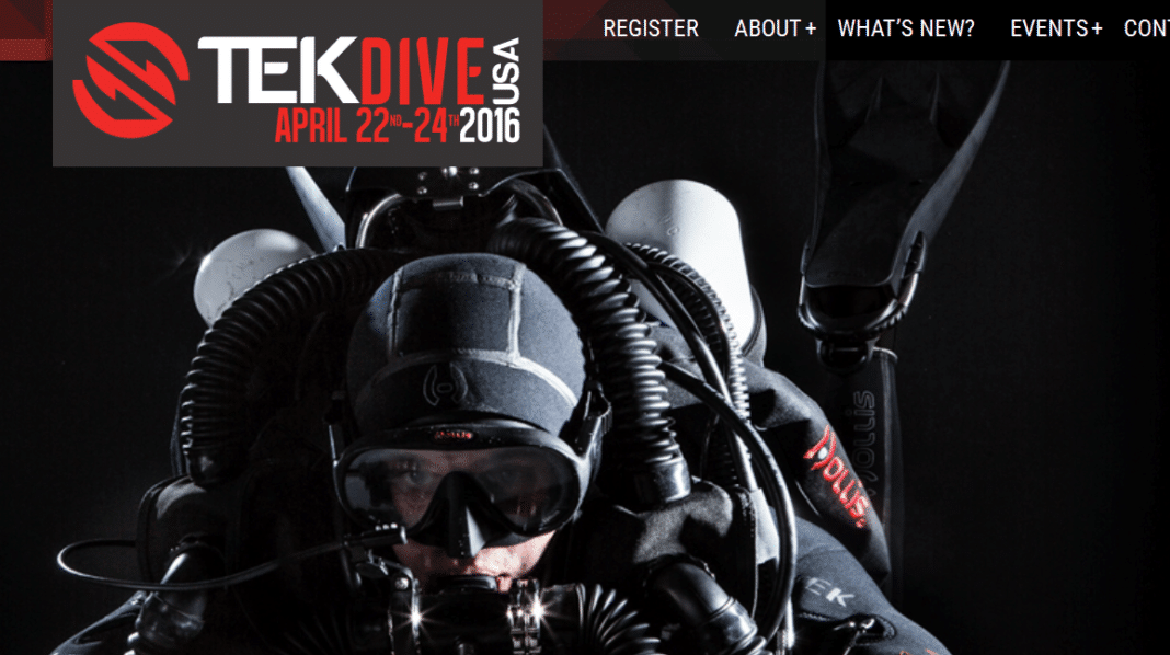 The TEKDiveUSA conference kicks off this weekend in Miami.