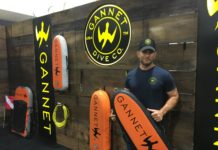 Gannett Dive Company showcased its spearfishing floats at Blue Wild