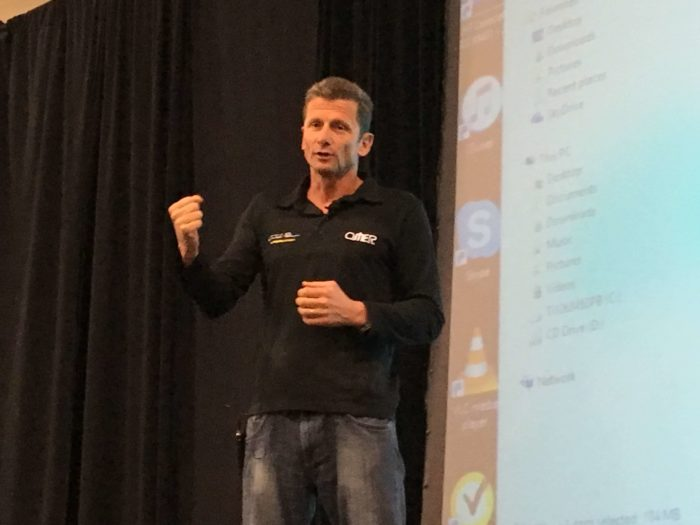World Champion Freediver Umberto Pelizzari Shares Tips Of The Trade At Blue Wild Expo