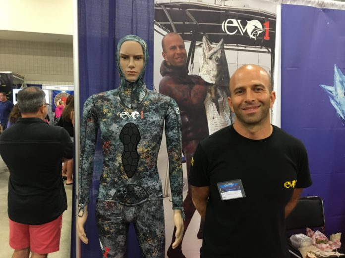 Wetsuit Maker EVO1 Debuts At Blue Wild Expo
