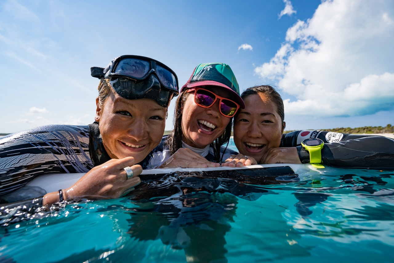 You can't help but smile! Hanako, FK, Sayuri (photo by Daan Verhoeven)