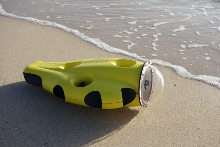 iBubble Underwater Camera Drone Nears Crowdfunding Goal On First Day