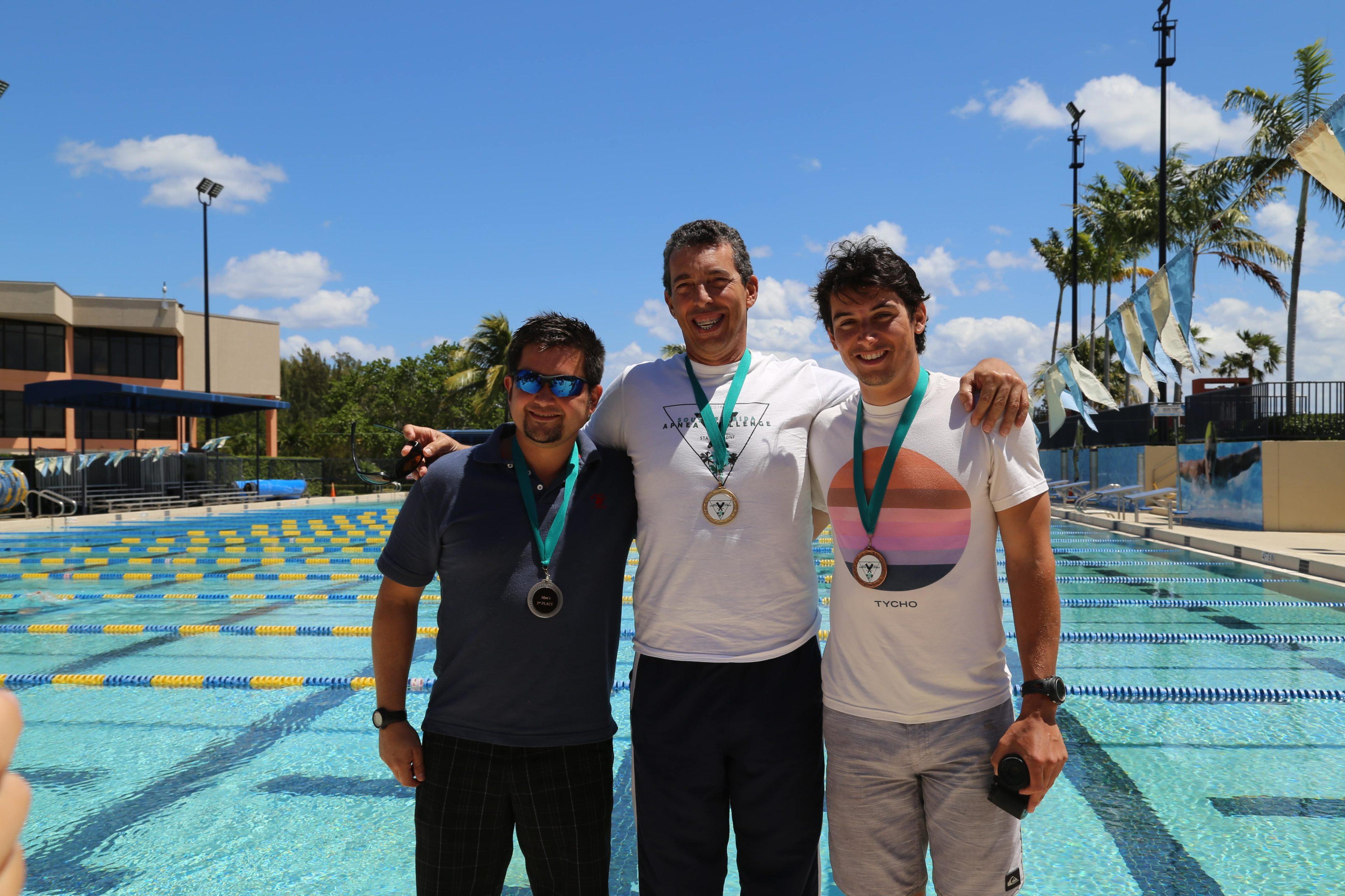 The Winning Men - Leo Lupoli (Venezuela), Luis Arismendi (Venezuela), Eddy Gonzalez (USA)