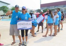 Venezuelan pride at the Olmeca Open 2016