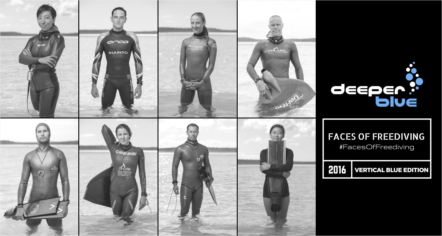 Faces of Freediving - Vertical Blue Edition 2016