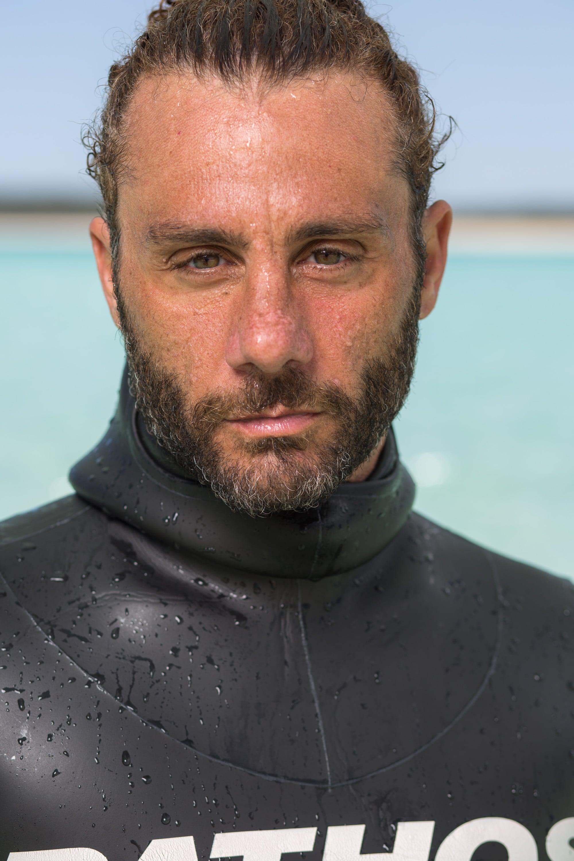Homar Leuci, Italy #FacesOfFreediving Photo © Tim Calver/DeeperBlue.com