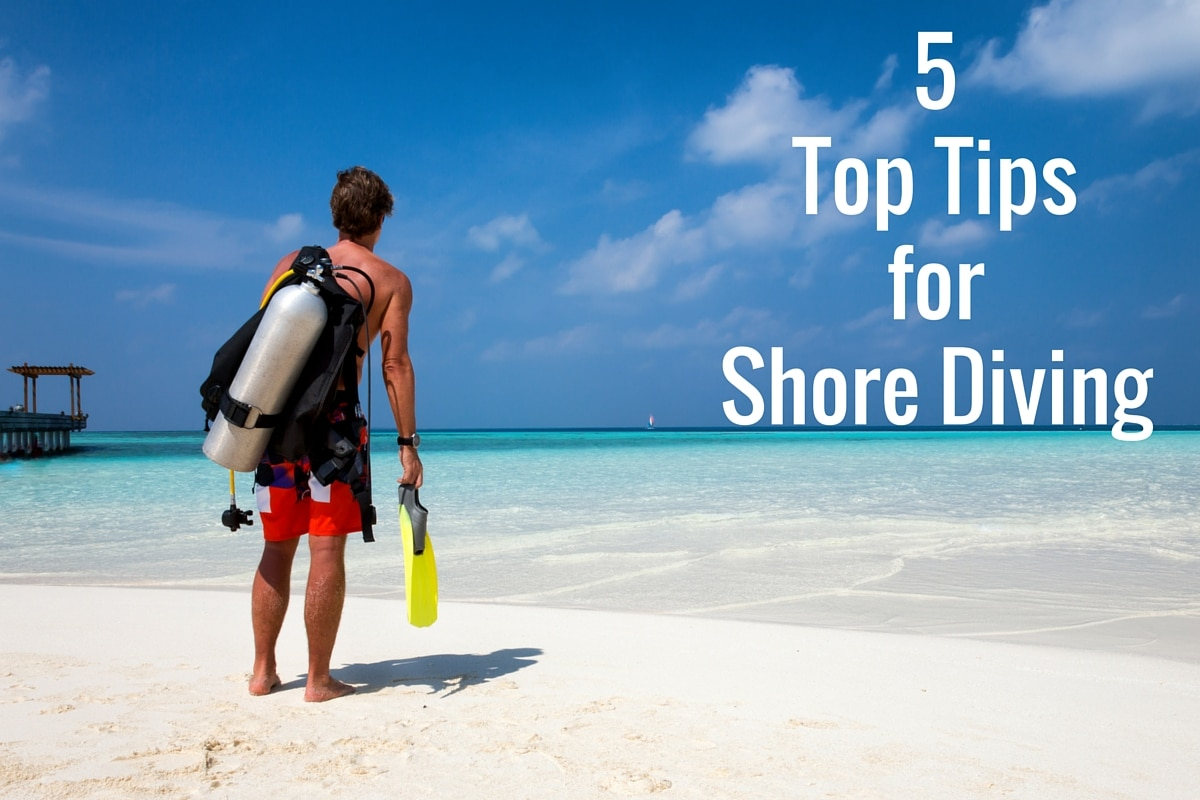 5 Top Tips for Shore Diving