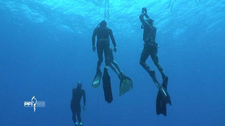 [VIDEO] Deja Blue 7 Freediving Disciplines