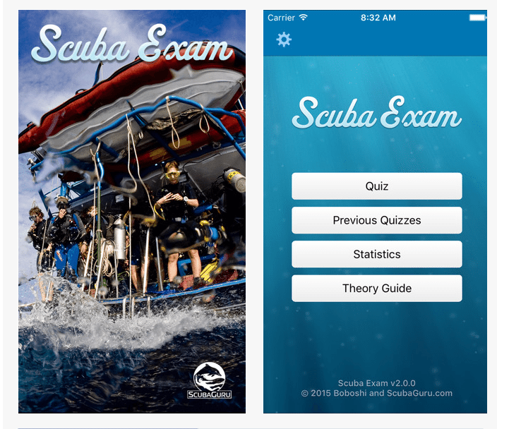 Scuba Exam App Gets Major Update