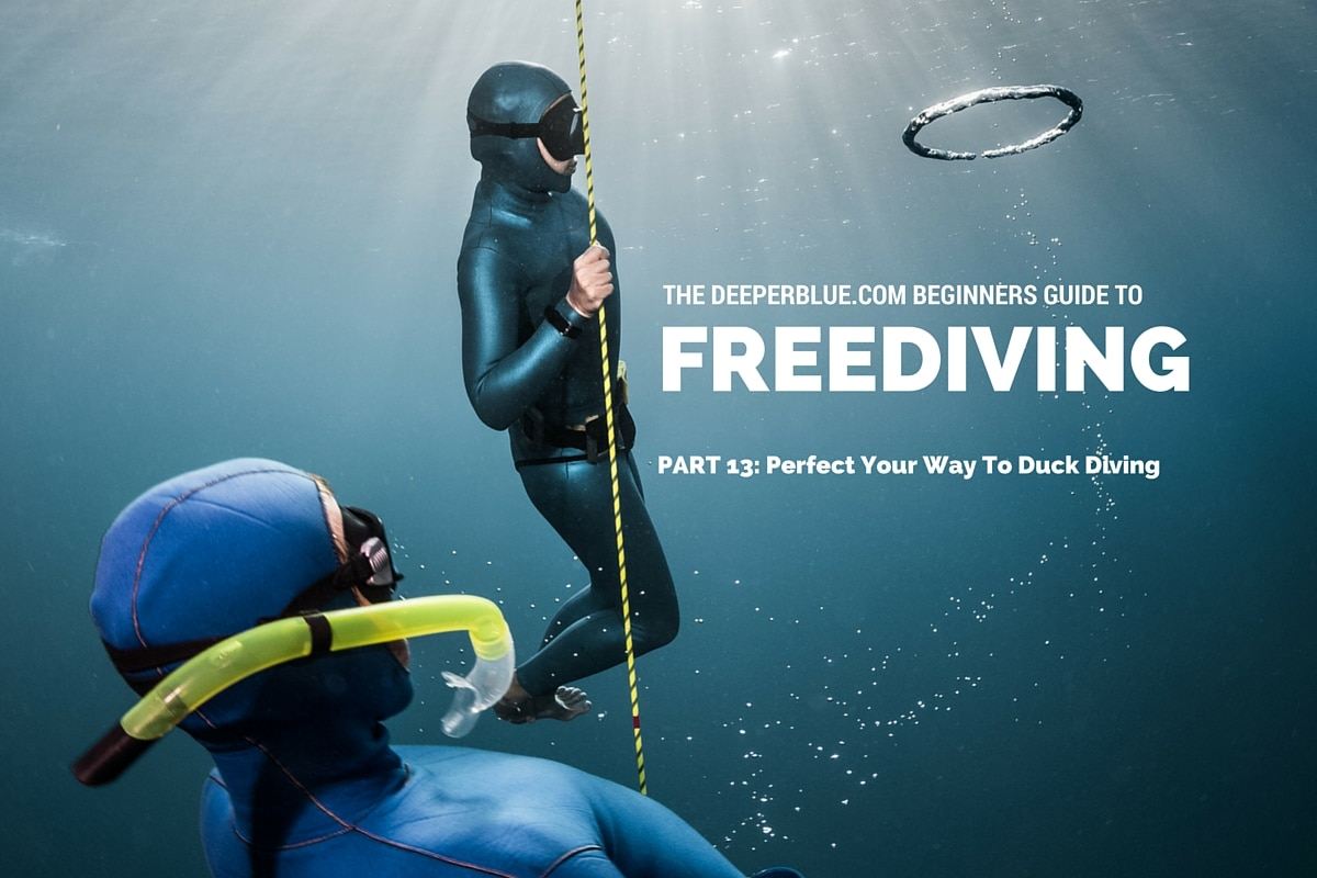 Beginners Guide to Freediving_ PART 13 - Perfect Your Way To Duck Diving