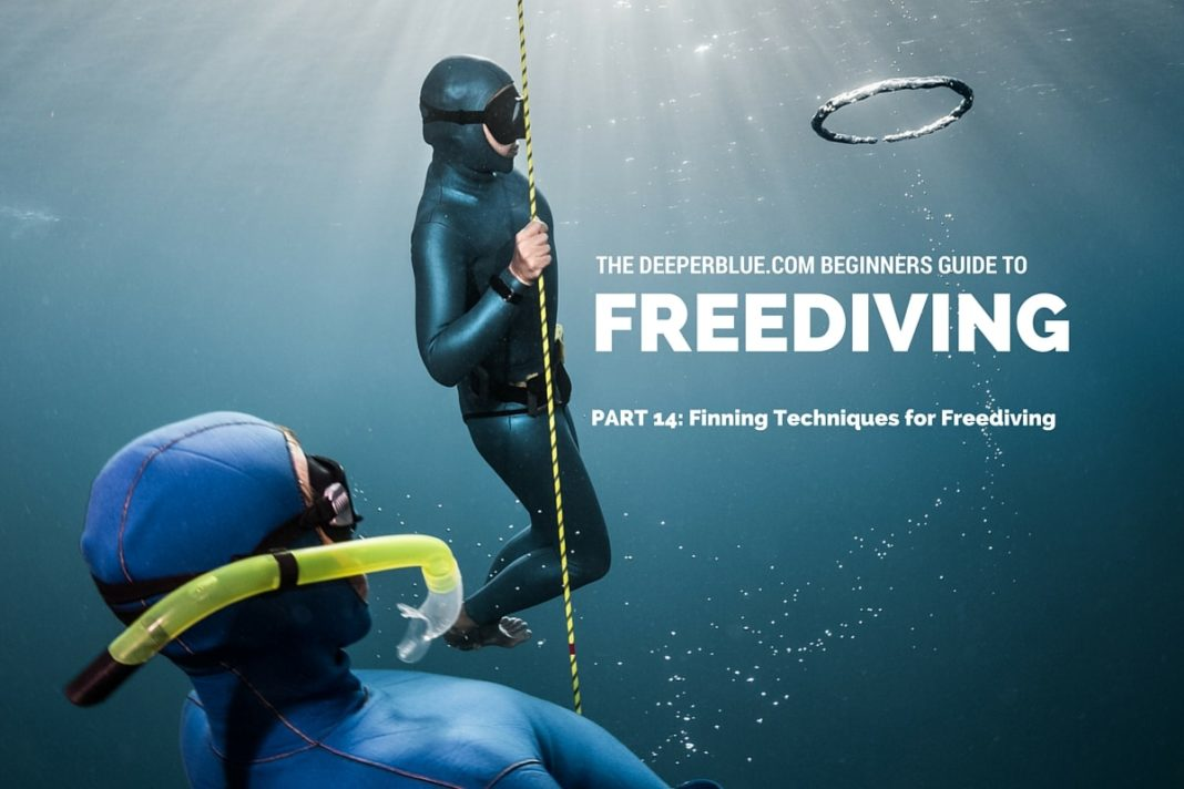 Beginners Guide to Freediving_ PART 14 - Finning Techniques for Freediving
