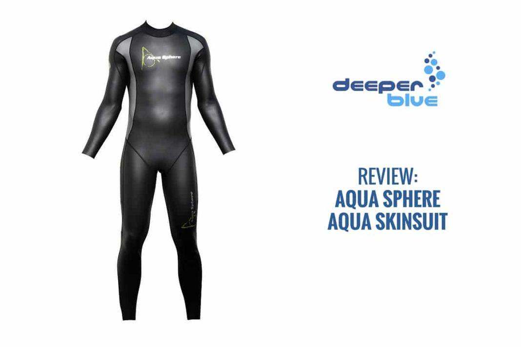 DeeperBlue.com - Review Aquasphere Aqua Skinsuit