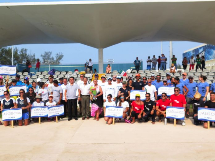 Olmeca Open participants from North and South America