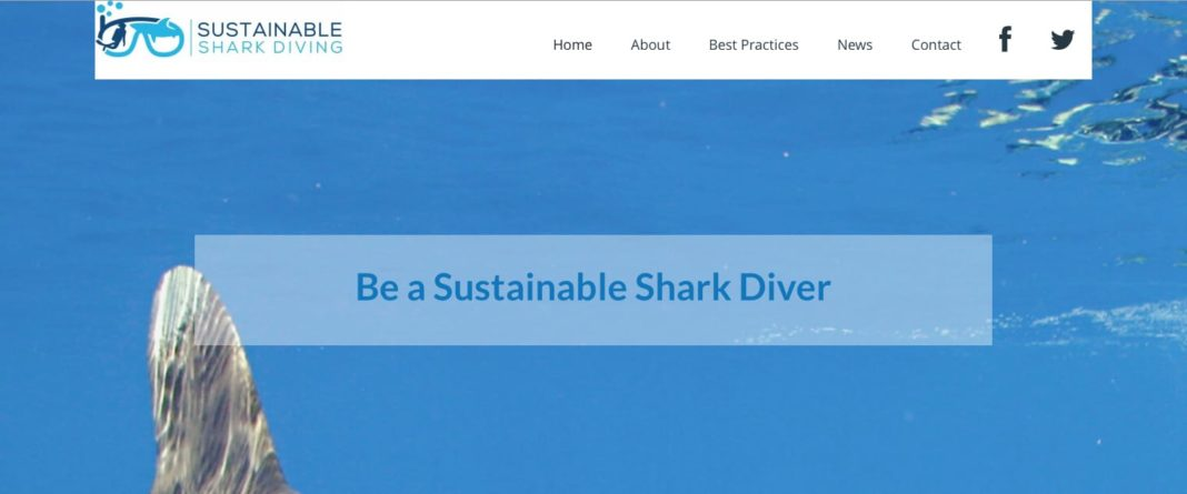Sustainable Shark Diving Website Launched