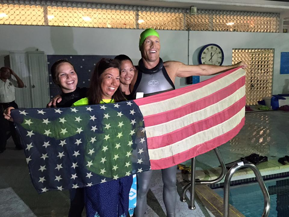 Thomas Gilmore Sets New US National Record
