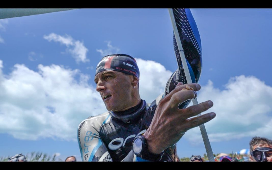 Video: Watch William Trubridge Dive 400ft On A Single Breath At #VB2016 2