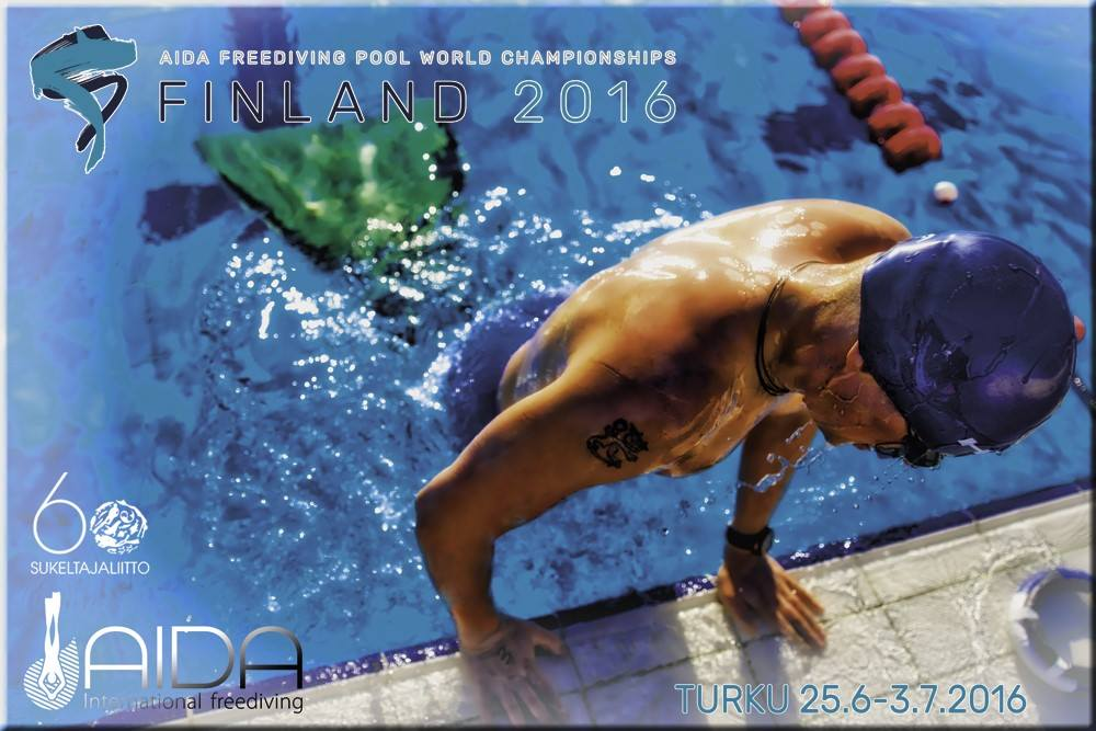 AIDA 2016 Pool Freediving World Championships Banner