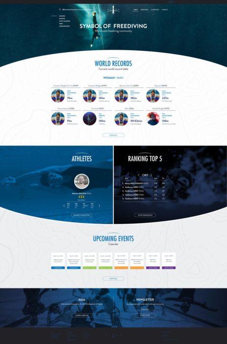 New AIDA Website Design 2016