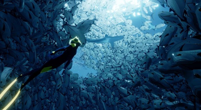 ABZÛ, a new video game that explores the underwater world, is due out soon.