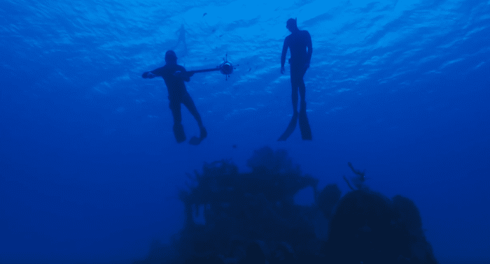Buyle and Schnoller developed a special 360-degree underwater camera.