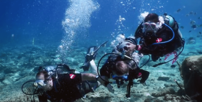 Diveheart helps people with disabilities learn how to dive.