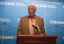 Shark advocate and actor Morgan Freeman lobbied the US Congress recently to ban shark fin sales.