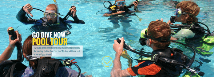 DEMA's Go Dive Now Pool Tour Coming To A U.S. City Near You