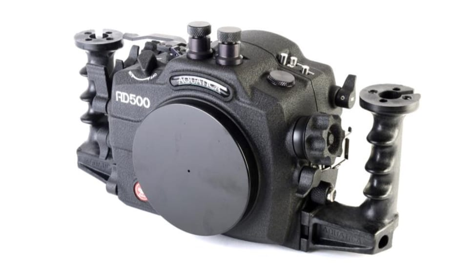 Aquatica Unveils AD500 Underwater Camera Housing