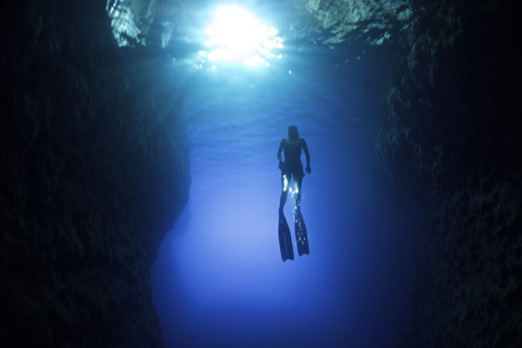 Freediving The Caves of Kefalonia
