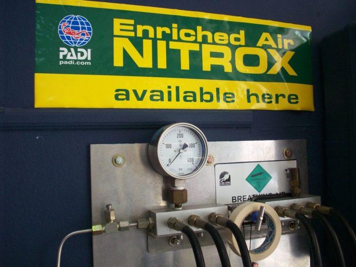 Enriched Air Nitrox Station