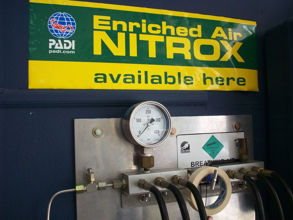 Enriched Air Nitrox Station
