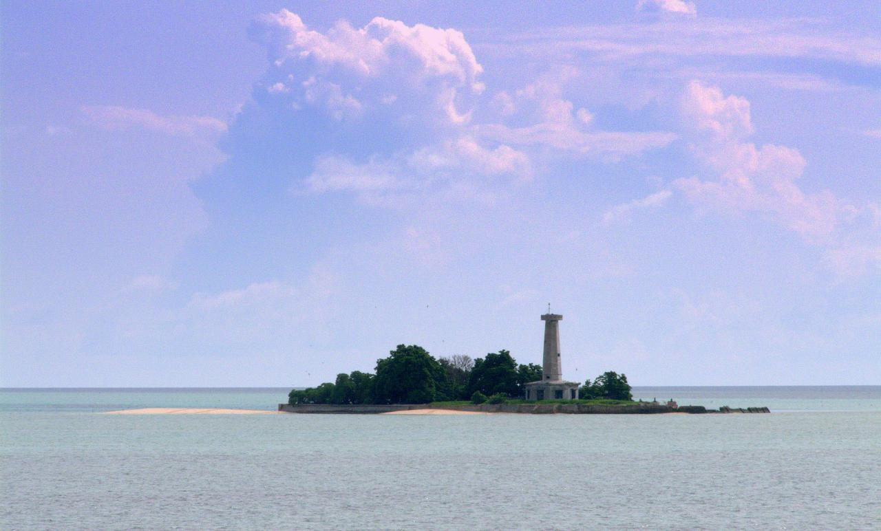Tubbataha reef lighthouse Philippines